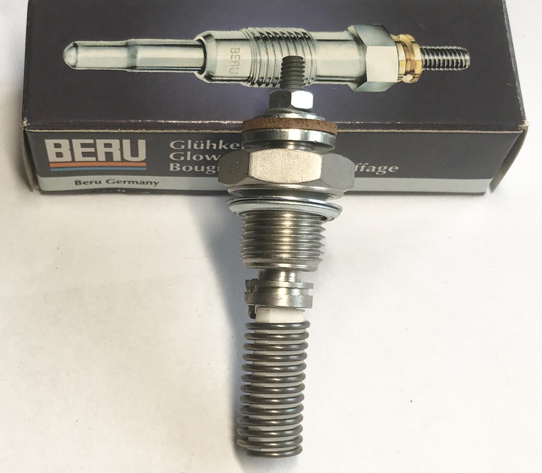 Beru 0102123203 Glühkerze 408GS 12V heater plug bougie de réchauffage