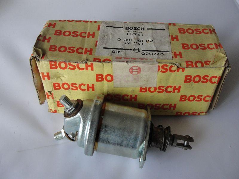 Bosch Magnetschalter 0331301001 SHSM 9L2Z für Anlasser Starter contactor inter