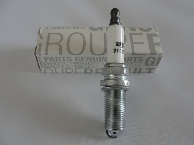 4xRenault Zündkerze 7700500192 Super Spark Plug Bougie Candela Bujía Tennplug