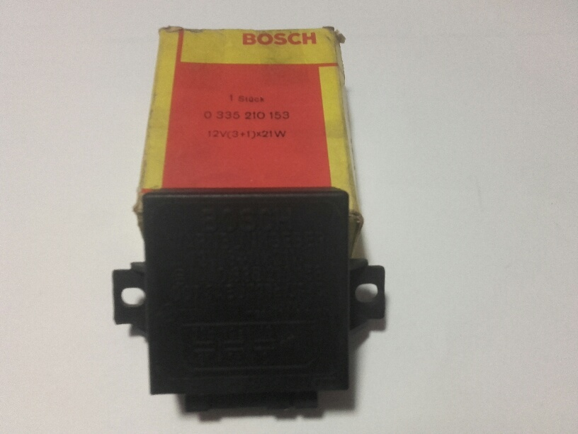 Bosch Blinkgeber  0335210153 flasher avertissement clignotant intermitentes