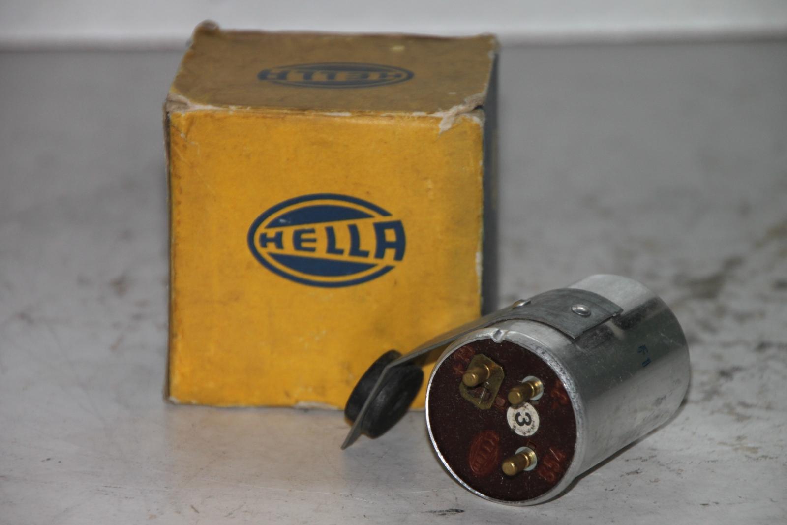 HELLA Blinkgeber  91PS1E 2x18W 12V flasher avertissement clignotant