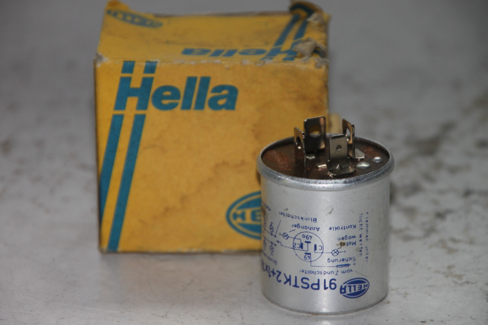 HELLA Blinkgeber  4NM001819-001 91PSTK 2+1x18W 12V flasher