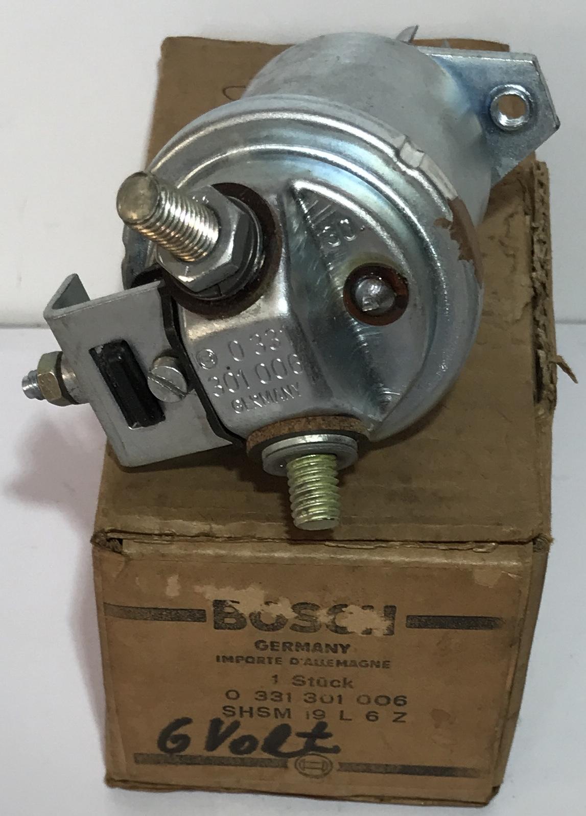 Bosch Magnetschalter 0331301006 6Vmagnetic switch commutateur magnétique