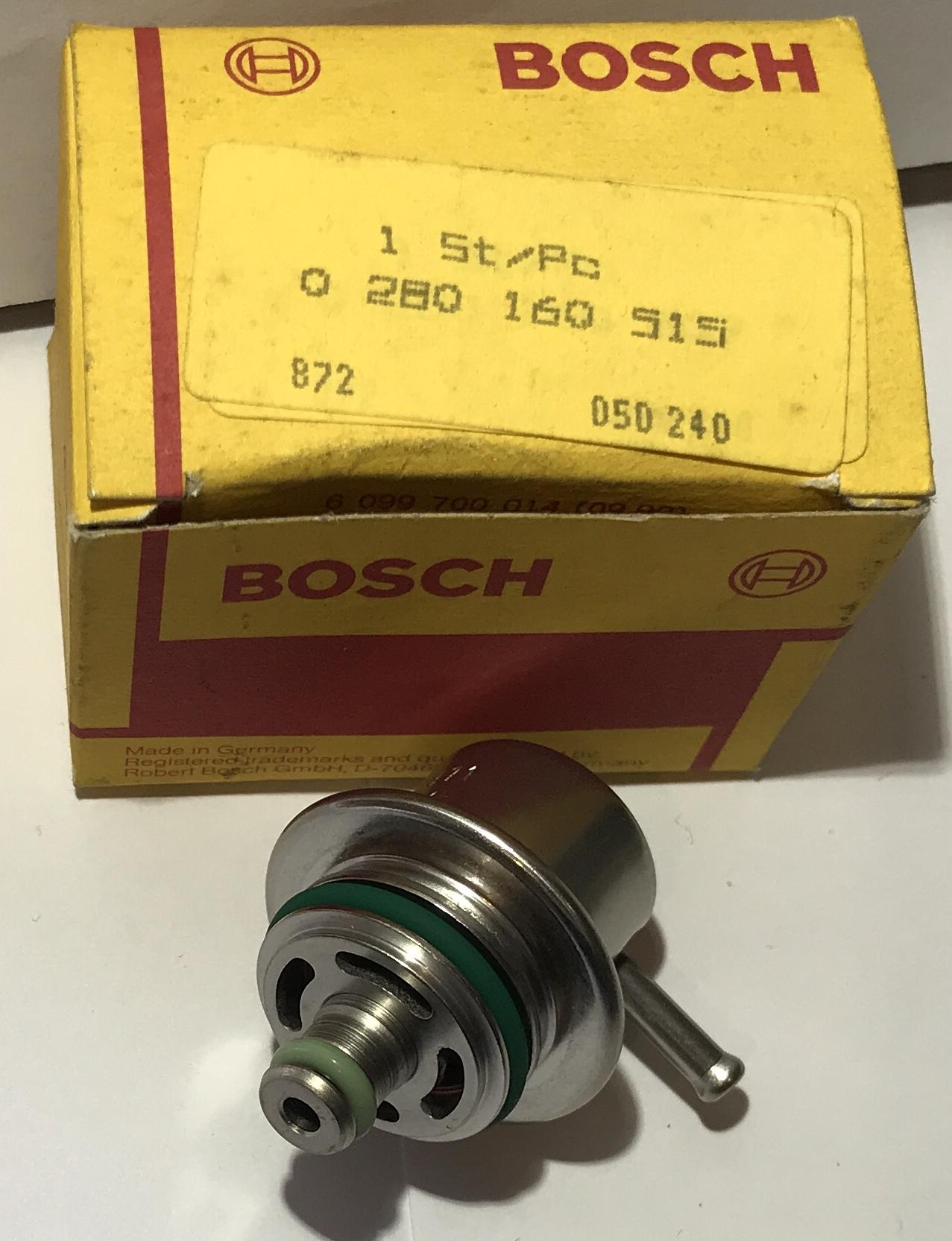 Bosch Kraftstoffdruckregler 0280160515  3,0 bar  fuel pressure regulator