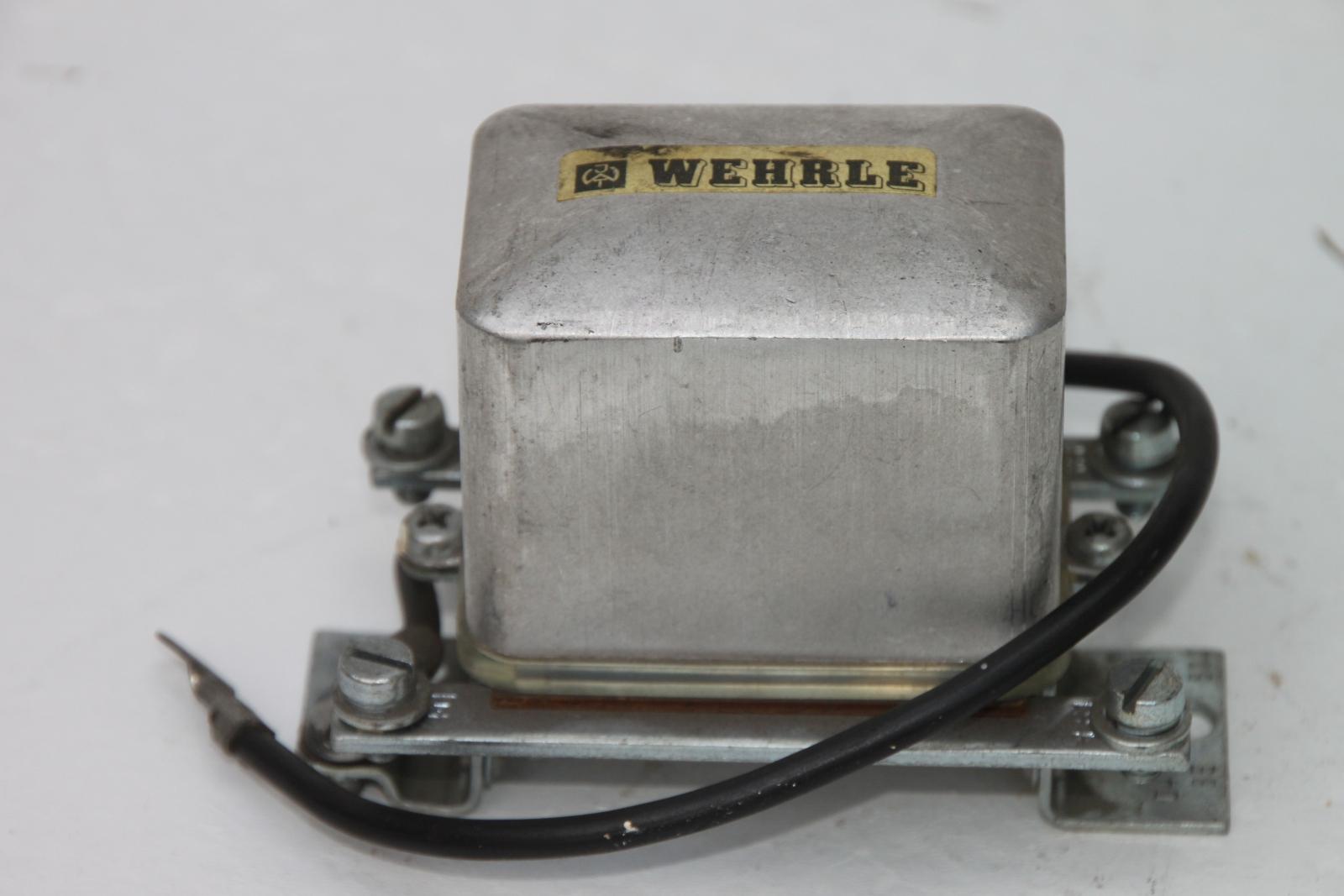 Wehrle Lichtmaschinenregler D418BE Regler Bosch  14