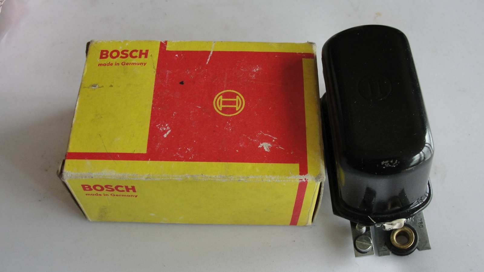 Bosch Lichtmaschinenregler 0190206004 ZAB 7 Volt 15A Alternator regulator Regler