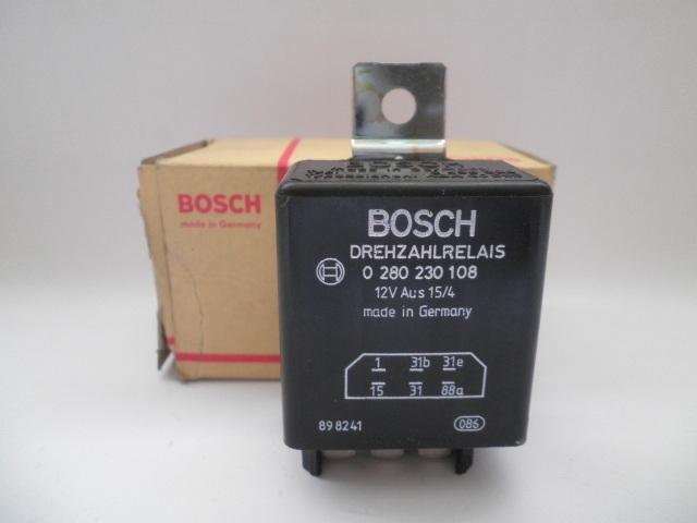Bosch Drehzahl Relais 0280230108  Relay Relé Relais