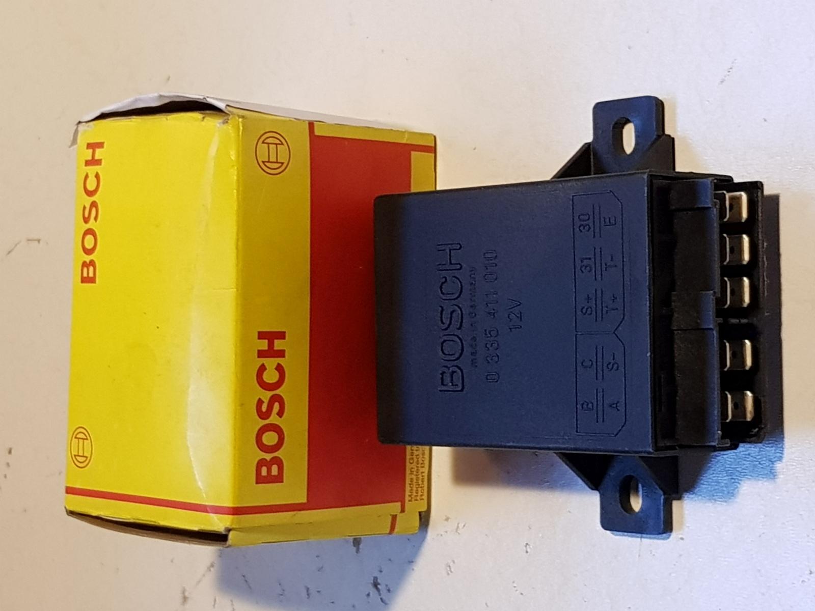 Bosch Relais Alarmrelais Starter 0335411010 12V Relay relé