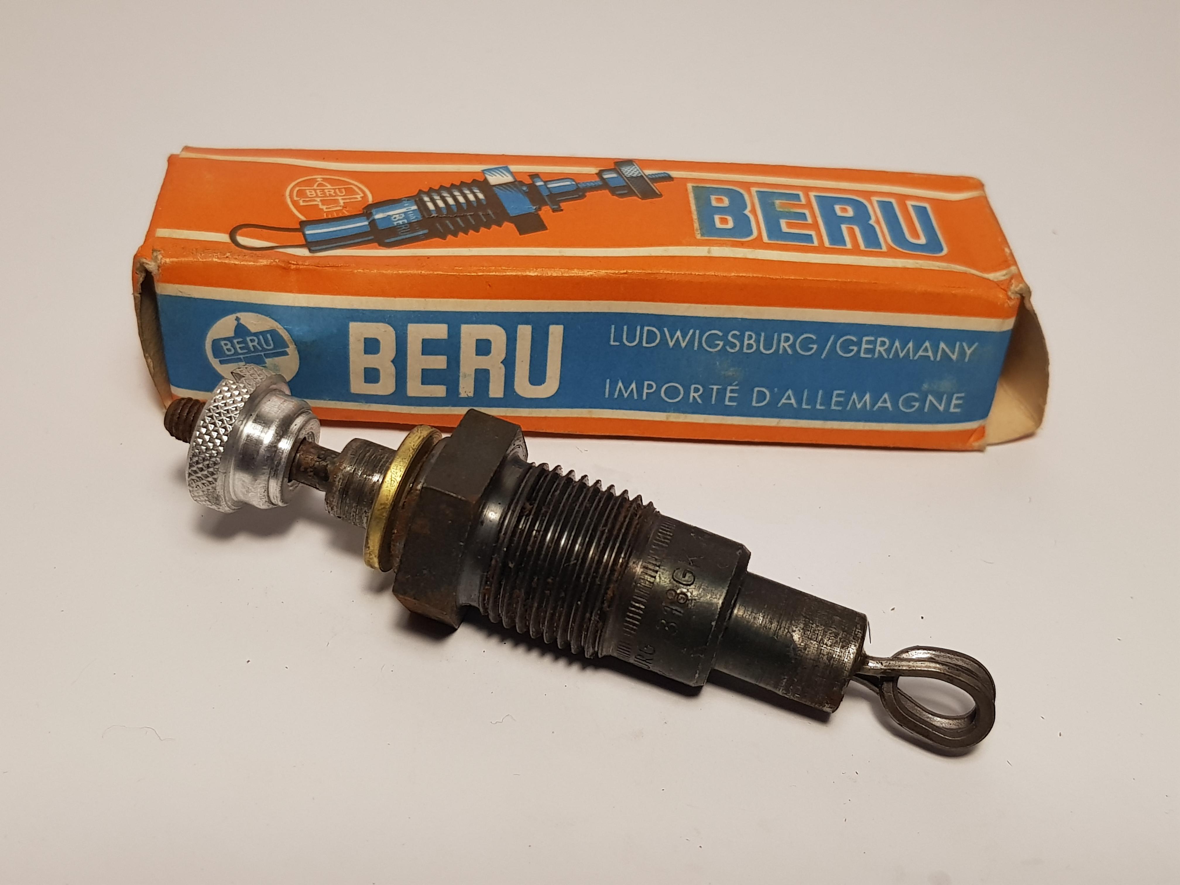 4x Beru 0100101304 Glühkerze 318GK GD318 glow plug Candeletta bougie