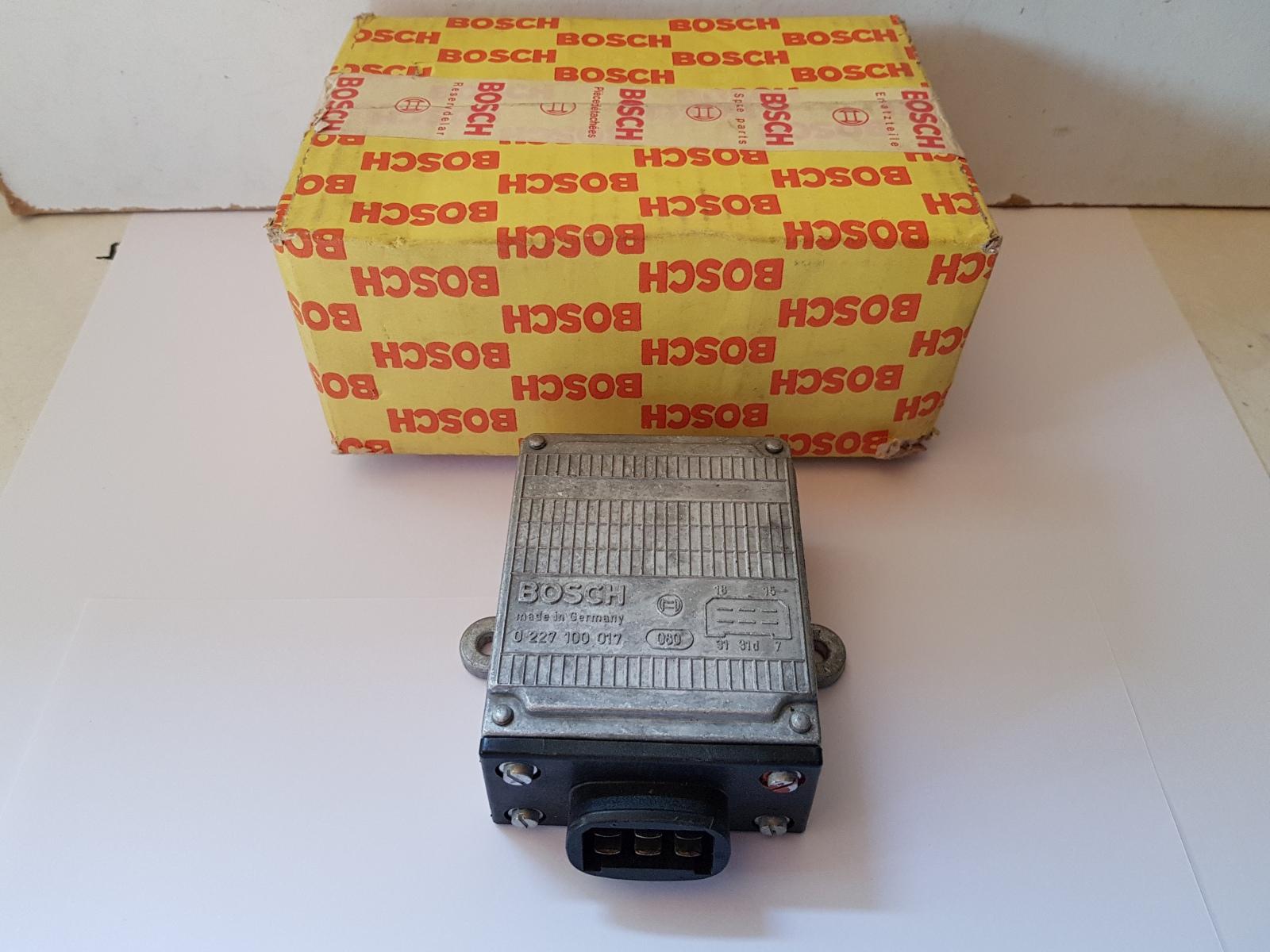 Bosch 0227100017 Schaltgerät Steuergerät Zündsteuergerät Porsche 924 931 Alfa