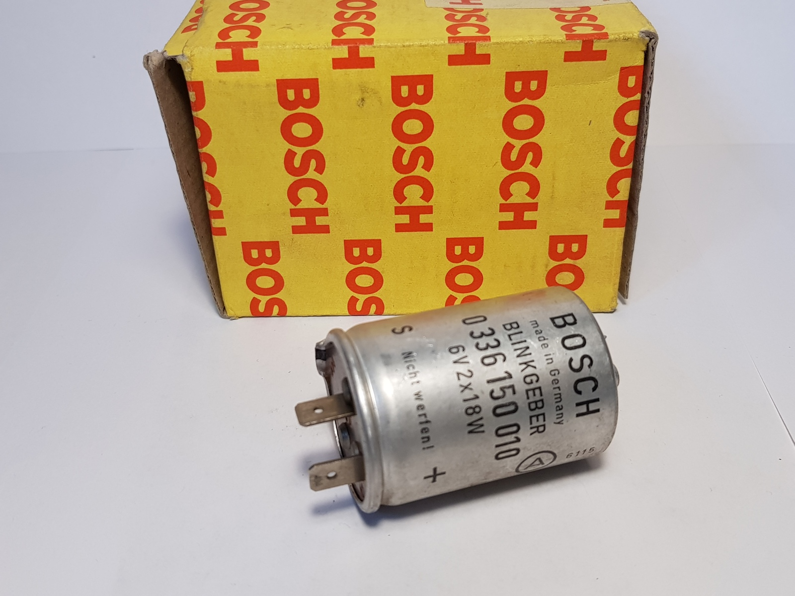 Bosch 0336150010 Blinkgeber Blinkergeber 6V 2x18W Elektrisch Indicator Unit