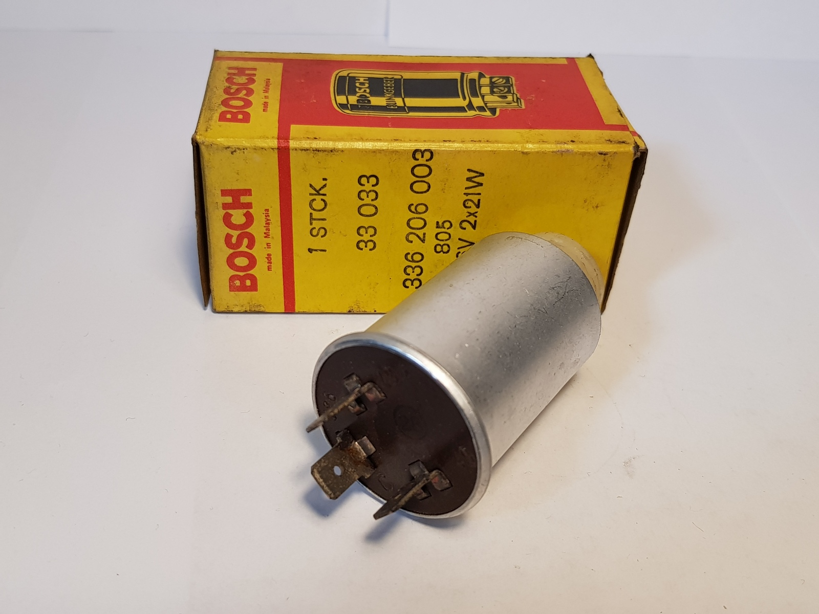 Bosch 0336206003 Blinkgeber Blinkergeber 6V 1180128 Elektrisch Indicator Unit