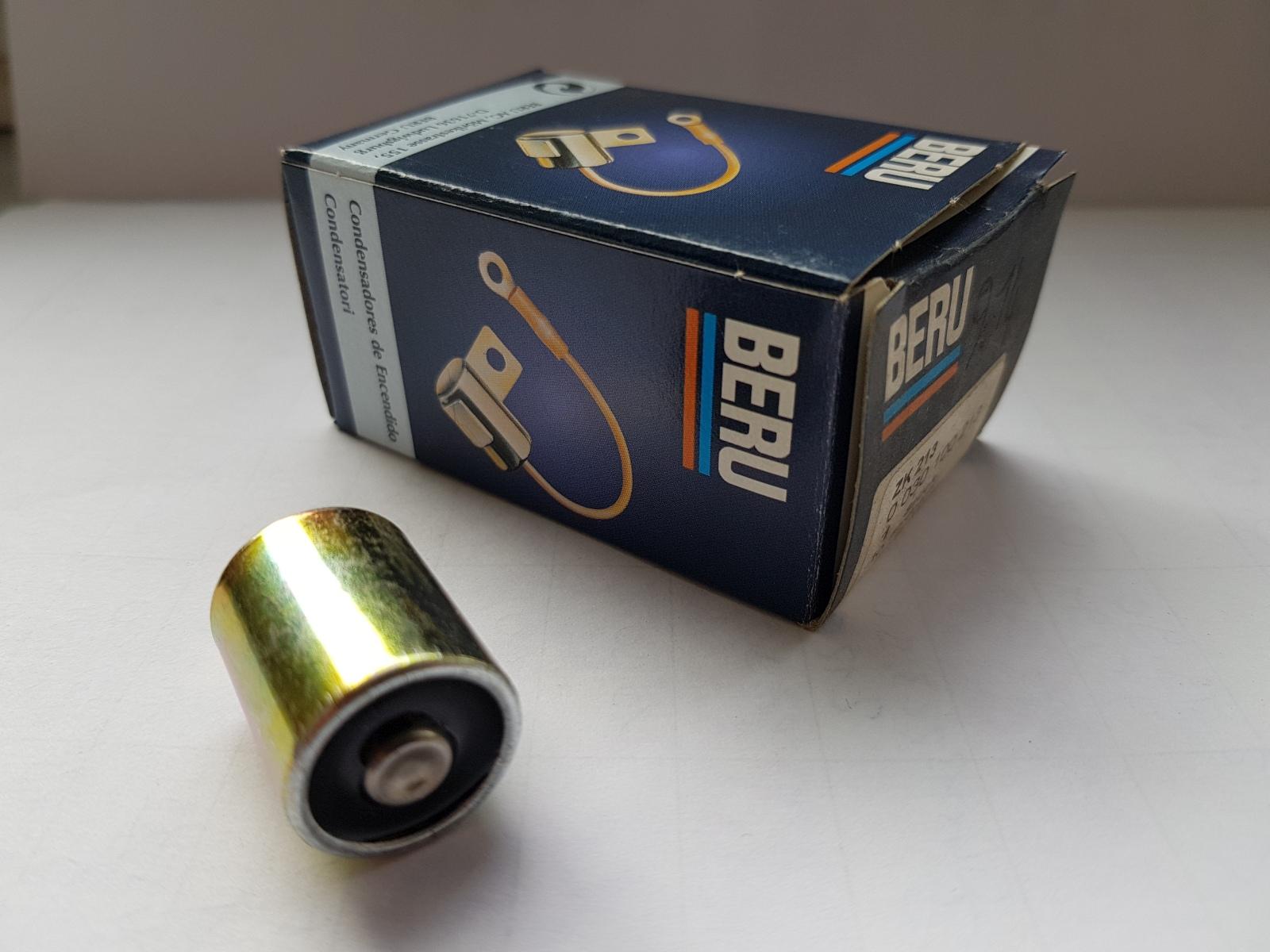 Beru ZK213 0030100213 1423102 Kondensator Zündanlage Silber Condenser