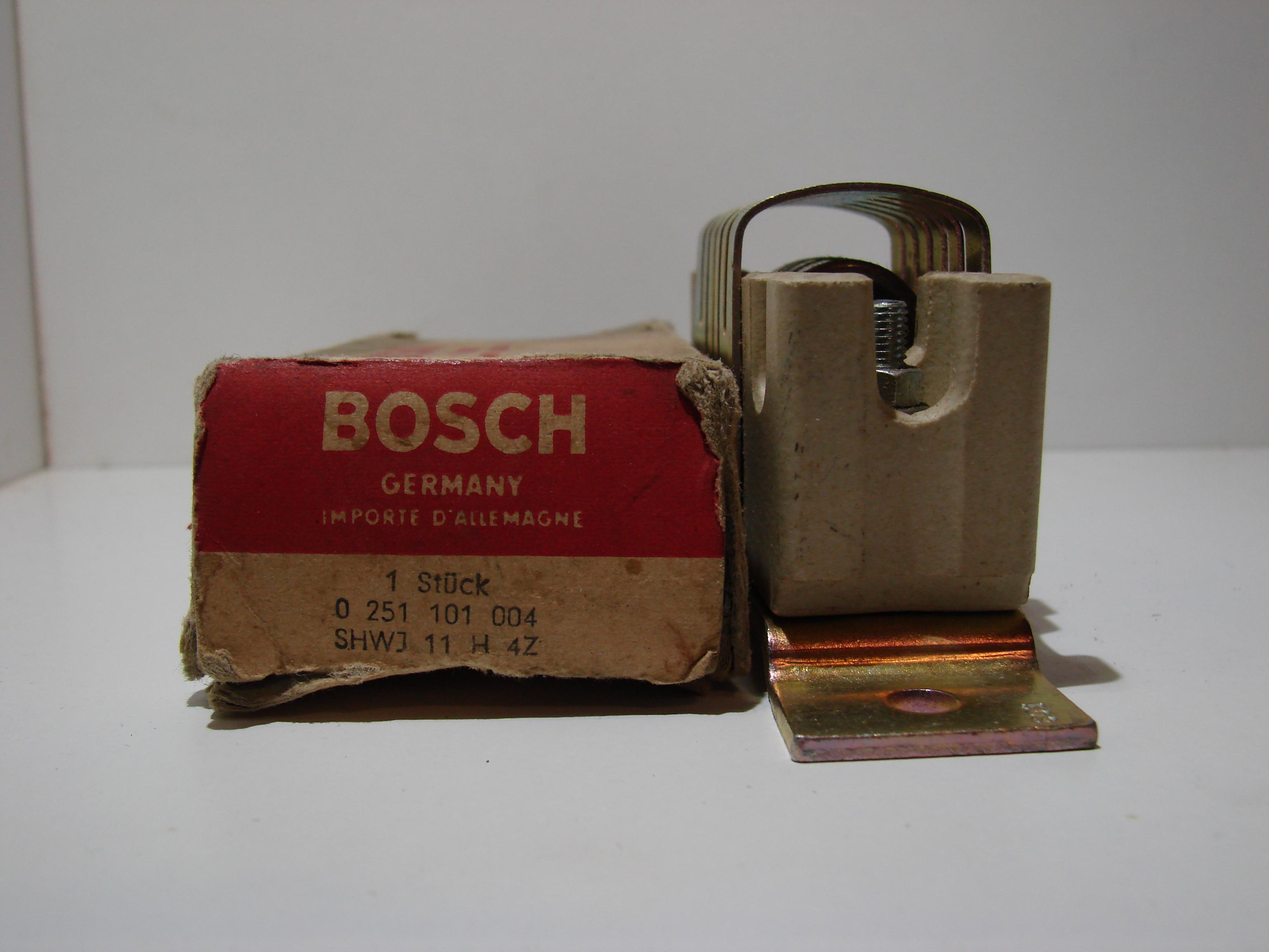 Bosch  0251101004 Vorglühwiderstand  Vorwiderstand resistance résistance resist