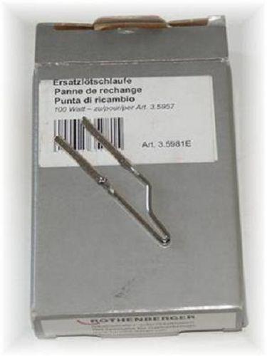 Rothenberger  Ersatzlötschlaufe 100 Watt für Lötpistole