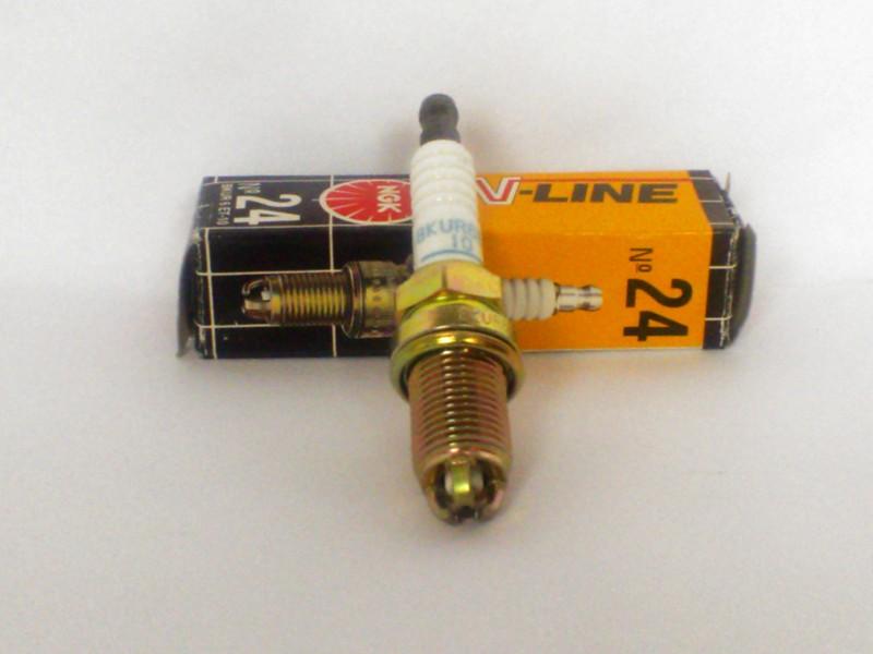 10x NGK Zündkerze BKUR6ET-10 V-Line 24 Spark Plug Bougie Candela bujía tennplugg