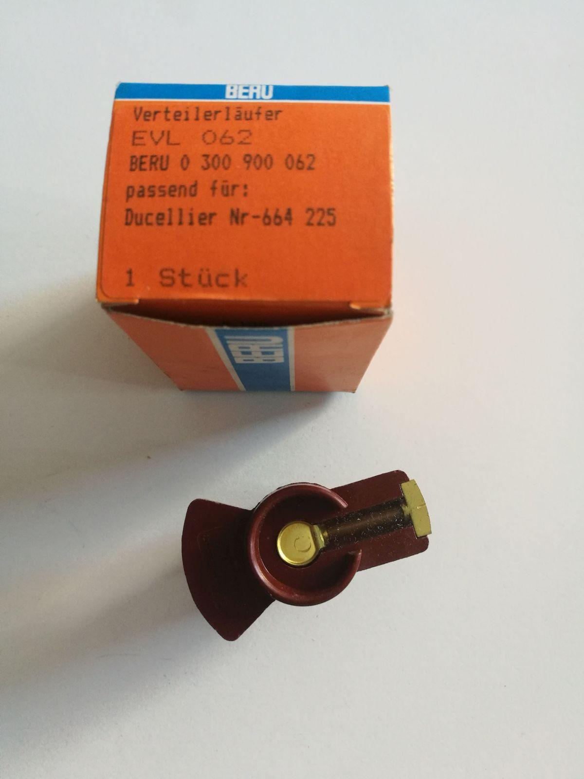 Beru 0300900062 EVL062 Zündverteilerläufer Verteilerläufer distributor rotors