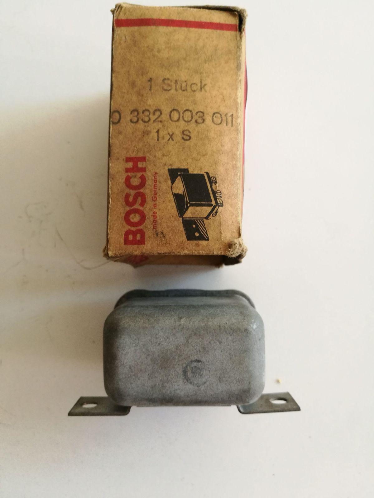Bosch 0332003011 Lichtmaschinenregler controlador máquina de luz contrôleu