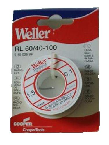 Weller Radiolot RL 60/40-100 Lötdraht 100g Ø1,5 mm