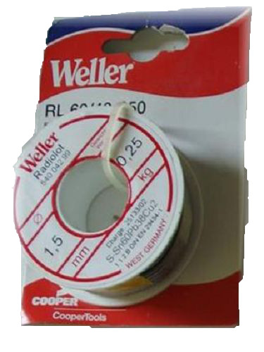 Weller Radiolot RL 60/40-250 Lötdraht 250g Ø 1,5mm Lötzinn