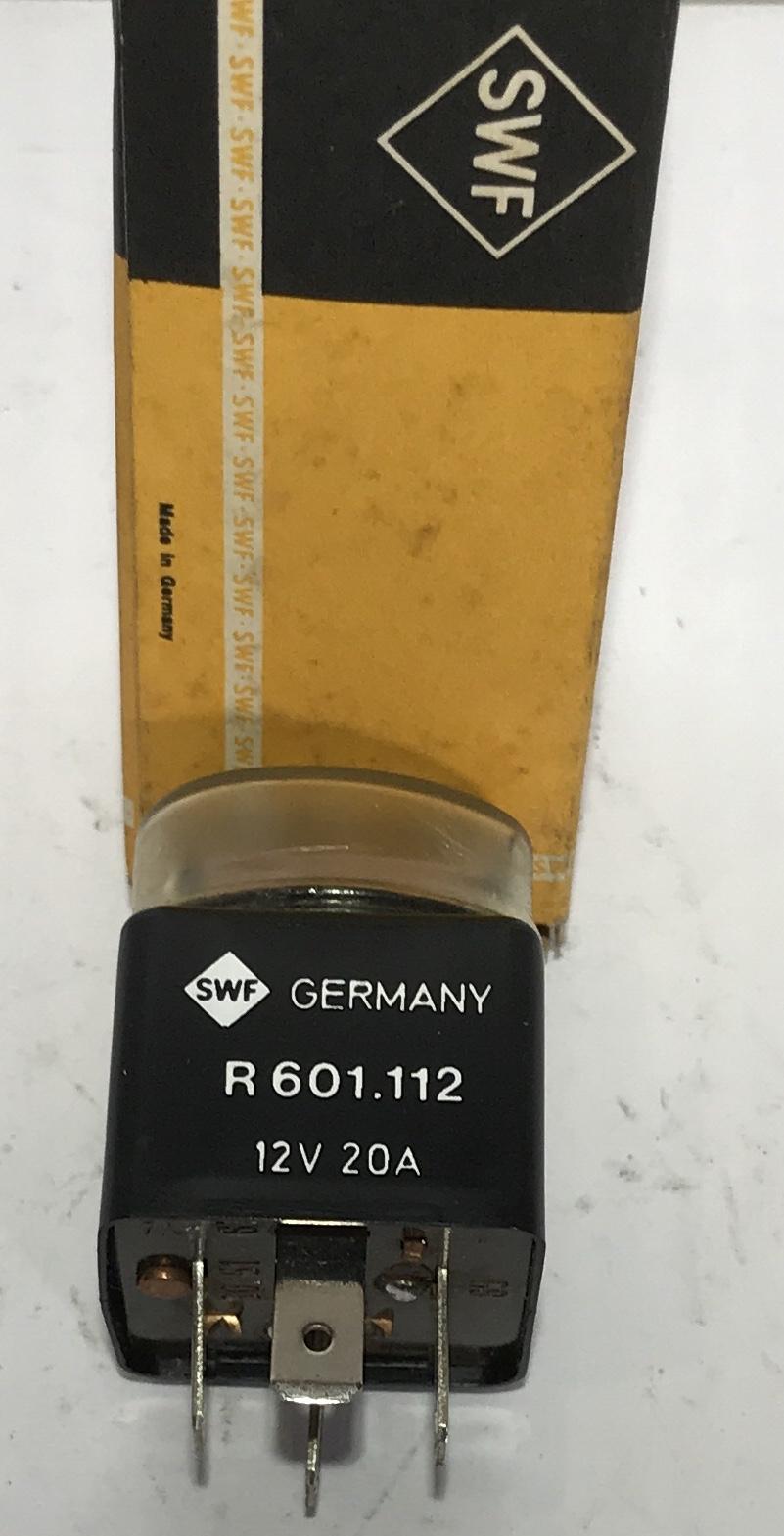 SWF R 601.112 relais 601112 Relay Opel