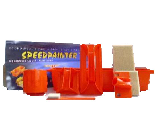 Speed Painter Speedpainter Pinsel Streichset Farbroller
