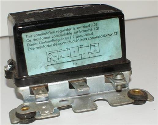 Wehrle Lichtmaschinenregler Regler Bosch 4