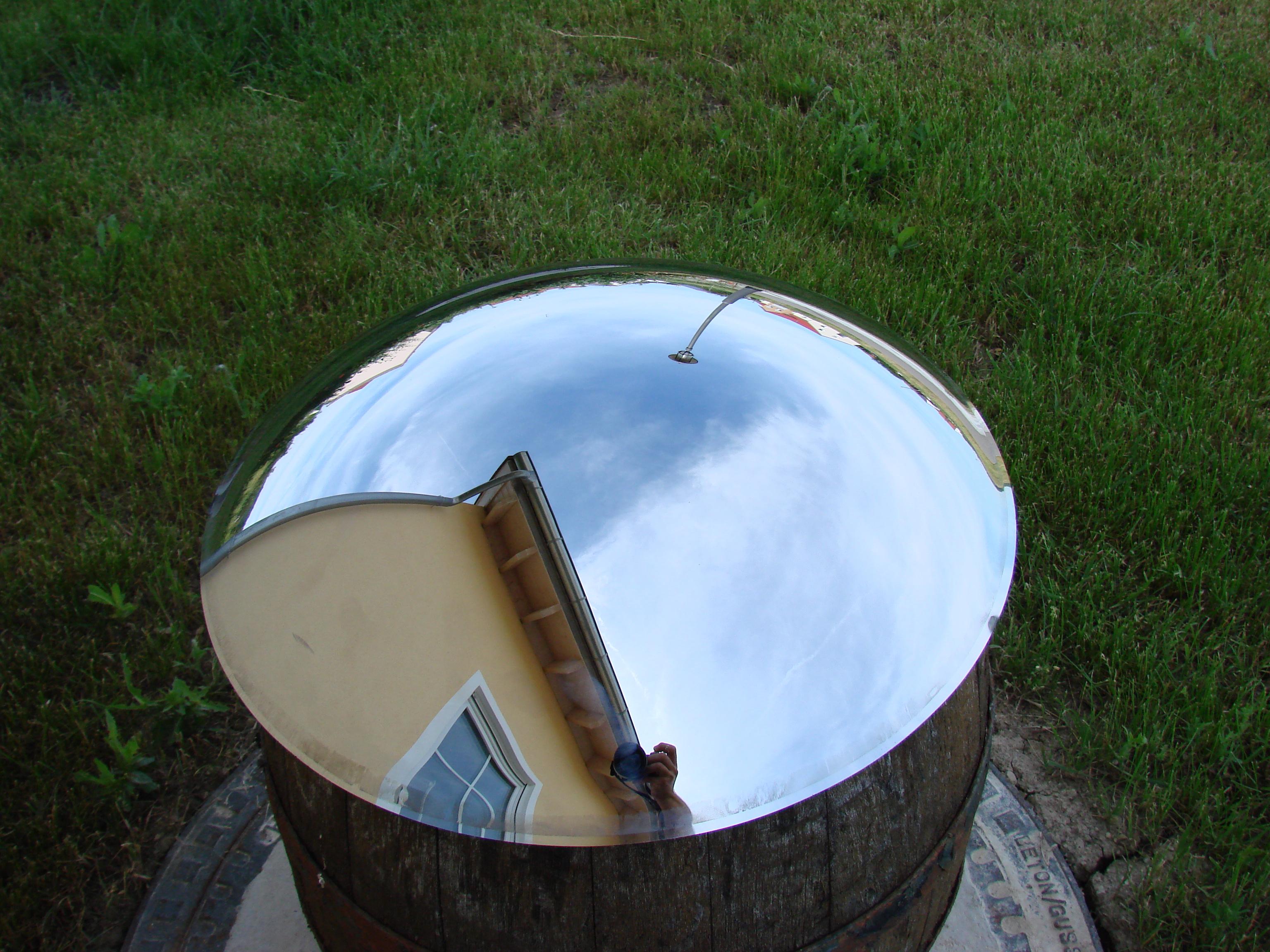 10x Verkehrspiegel 42cm Beobachtungsspiegel Konvex Kontrollspiegel Spiegel